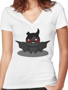 The Binding Of Isaac Rebirth Character - Azazel Women's Fitted V-Neck T-Shirt