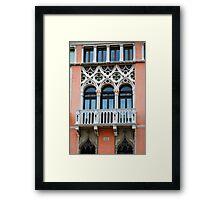Palazzo Foscari Facade Framed Print