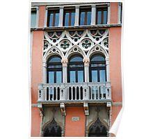 Palazzo Foscari Facade Poster