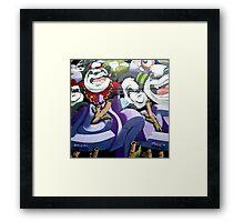 Panda Mao Framed Print
