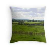 Ireland Country Side Throw Pillow