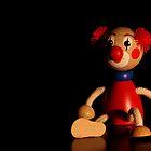Portrait of a Clown by Nicholas Averre