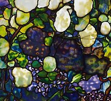 Lewis Comfort Tiffany Stained Glass  by BTick21