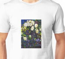Lewis Comfort Tiffany Stained Glass  Unisex T-Shirt