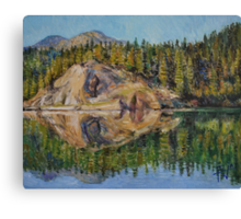 Lady Lake Canvas Print