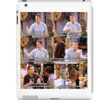 Chandler Friends iPad Case/Skin