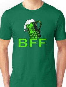 Green Beer BFF Funny St Patrick's Day Tee Unisex T-Shirt