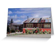 sanford winery Greeting Card