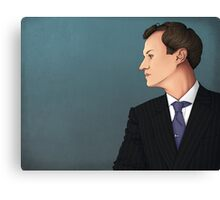 He is the British government Canvas Print
