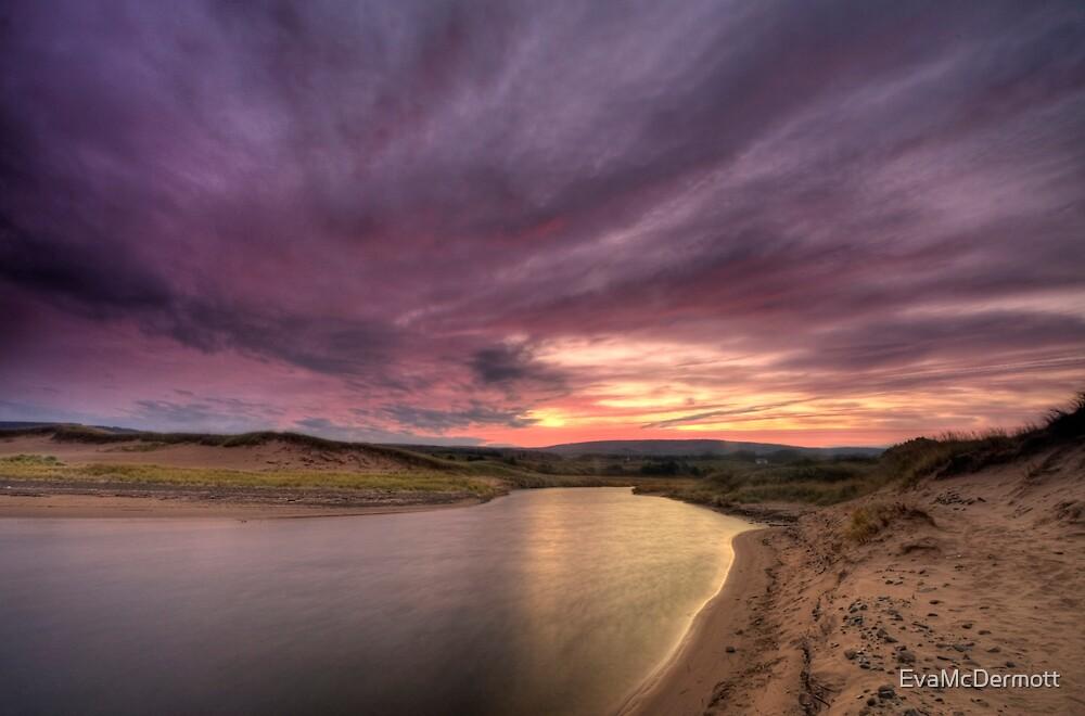 Inverness Beach Sunrise by EvaMcDermott