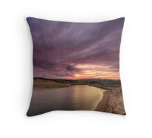 Inverness Beach Sunrise Throw Pillow
