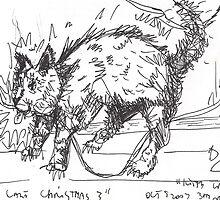 KITTYS LAST CHRISTMAS(C2007) by Paul Romanowski