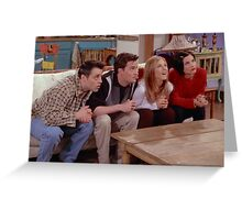 Friends tv Greeting Card