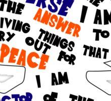 Goku's Speech Sticker