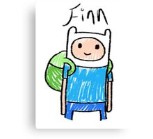Adventure Time - Finn Canvas Print