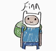 Adventure Time - Finn by RainbowUnicorns