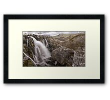 Loup of Fintry waterfall Framed Print