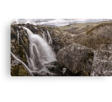 Loup of Fintry waterfall Canvas Print