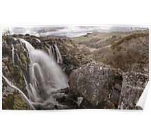 Loup of Fintry waterfall Poster