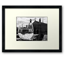 Wineglass in Charlestown Framed Print