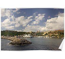 Mgarr harbour, Gozo Poster