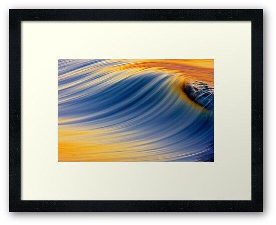 Dawn Wave Breaking by David Orias