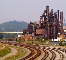 Bethlehem Steel - Industrial reminder of the past by Dan Chang