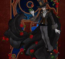 Steampunk Tuxedo Mask by Barbora  Urbankova