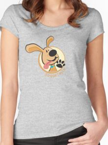 doggie-tastic Women's Fitted Scoop T-Shirt