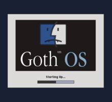 Goth OS (System 8) Kids Clothes