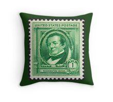 Washington Irving Stamp 1940 Throw Pillow