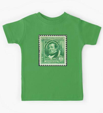 Washington Irving Stamp 1940 Kids Tee