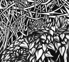 Doodle 4 - Roots by Kristin Thornton