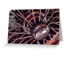 Morgan Wire Wheel Greeting Card