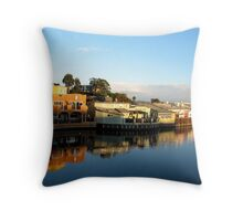 capitola winter Throw Pillow