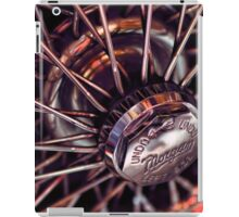 Morgan Wire Wheel iPad Case/Skin