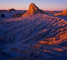 Lake Mungo Sunset by Albert Sulzer
