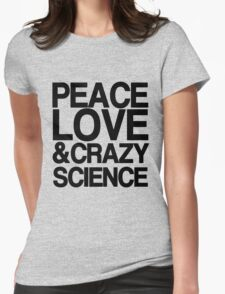 Peace, Love & Crazy Science (Orphan Black) T-Shirt