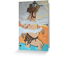 Time bandits giant Greeting Card