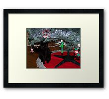 A Toy to Play With! Framed Print