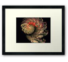Spiral movement Framed Print