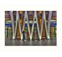 King's Cross Concourse Art Print