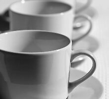 Cups and Saucers by cloudman