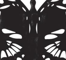 The Skulled Butterfly Sticker
