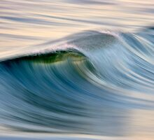 Blue Curl by David Orias