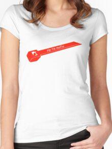 Zip Tie Mafia Women's Fitted Scoop T-Shirt
