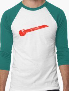 Zip Tie Mafia Men's Baseball ¾ T-Shirt