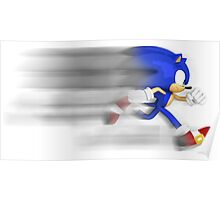 Sonic Speed Poster
