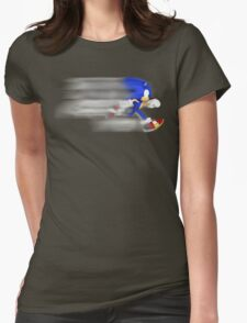 Sonic Speed Womens Fitted T-Shirt