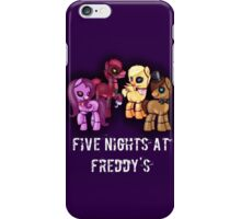 My little pony Five Nights at Freddy's iPhone Case/Skin
